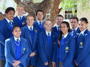 Uppies presteer by Kalahari Eskom Expo | Hoërskool Upington High School