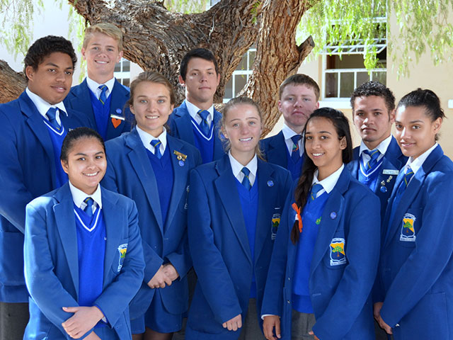 Uppies presteer by Kalahari Eskom Expo | Hoërskool Upington High School