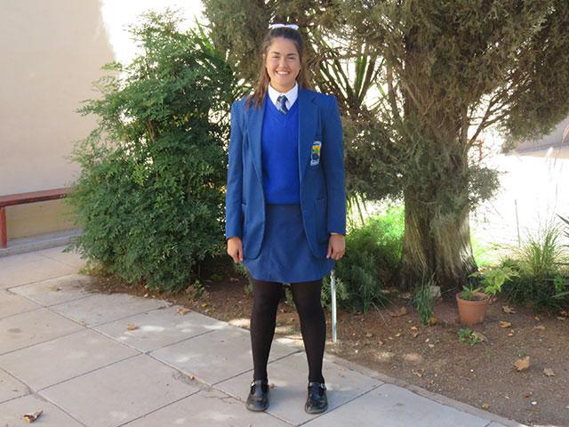 Meisies Wintersdrag | Hoërskool Upington High School