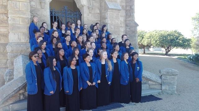 Uppies se koor toer na Kaapstad