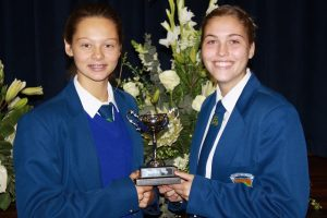 Junior Victrix Ludorum – Kate Nugent en Susan Hanekom